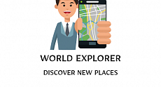 WORLD EXPLORER - travel application